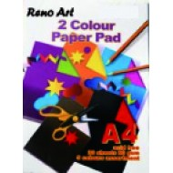Two Colour Paper Pad