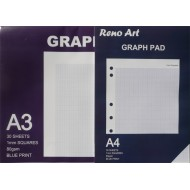 Graph Paper Pad 1mm